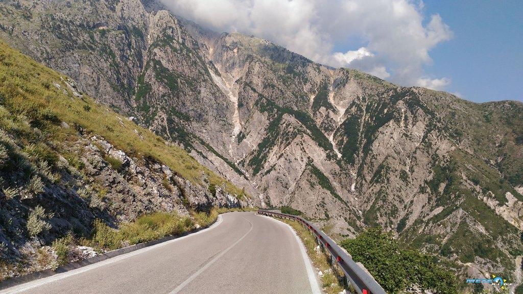 Panorama Llogara Meteo-Ride Мото-трасета-маршрути-Албания