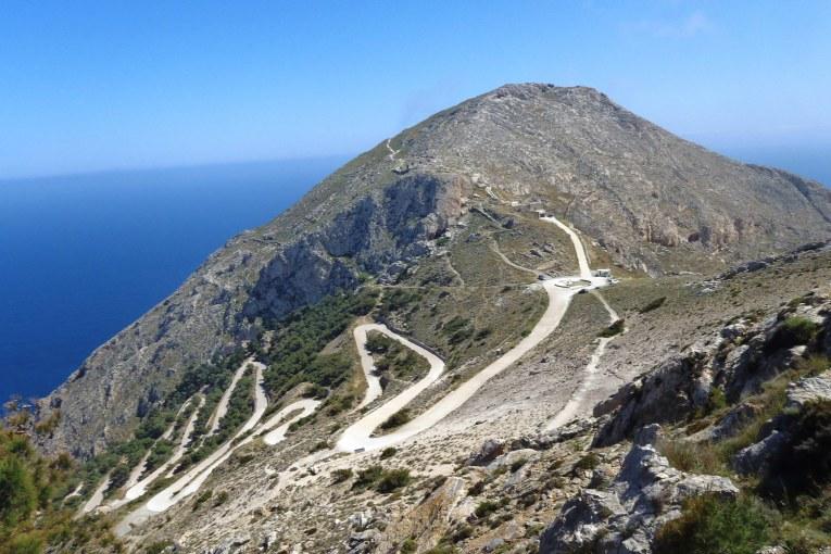 Пътят до Древна Тира (о. Санторини)