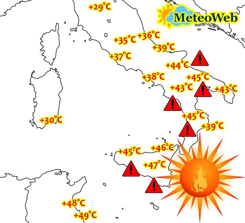 Photo of Рекордни горещини очакват Италия следващата седмица – до 47 градуса в Сицилия