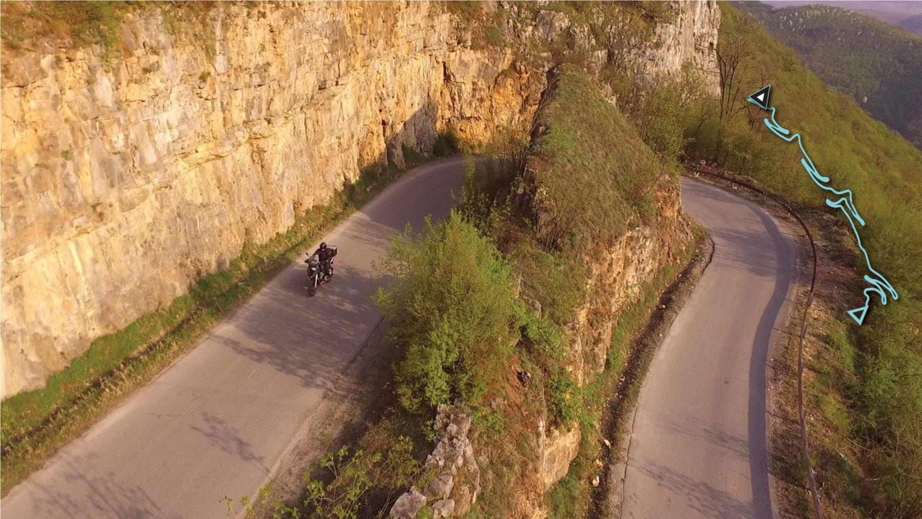 Пътят до Миланово (Дружевска седловина) Шосе: 162