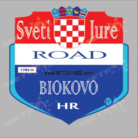 Sveti Juri (Св. Юри, Биоково) №10 Серия Хърватия