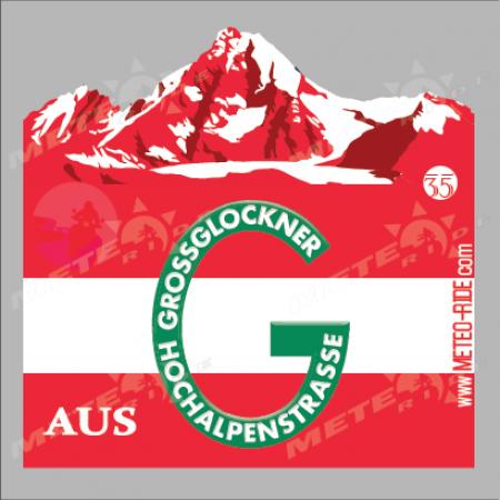 35 Grossglokner (Гросглокнер) Стикер №35, от Австрия