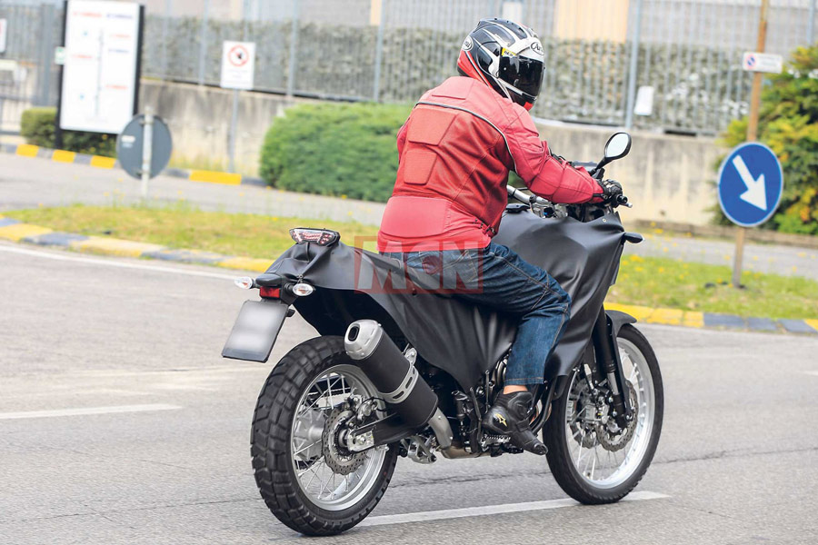Yamaha MT-07 Adventure (T7 Concept) влиза на поточната линия