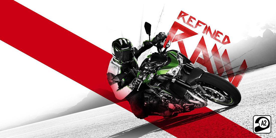 Kawasaki Z900 вече съвместим с категория А2