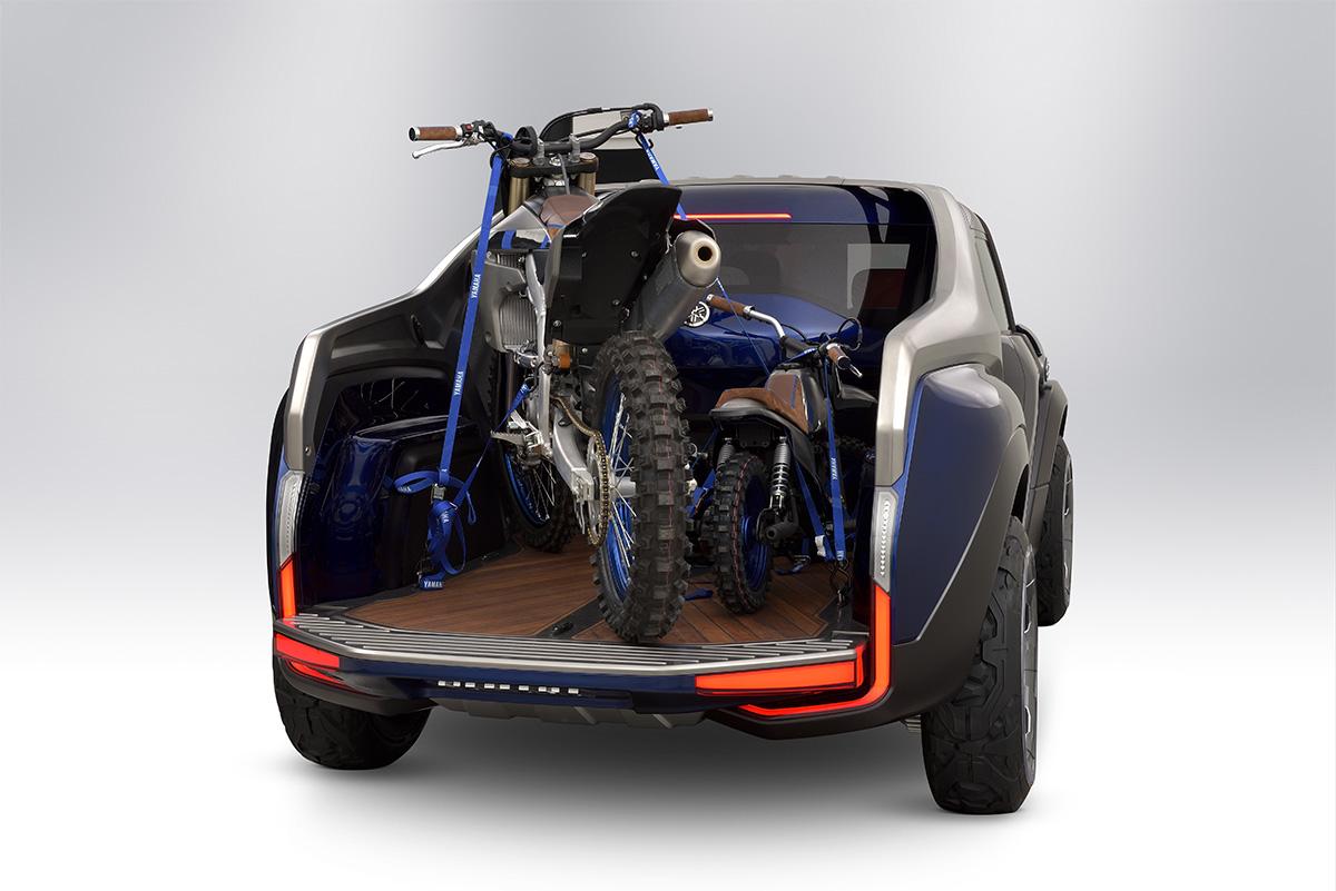 Ямаха създаде пикап за притежателите на мотоциклети