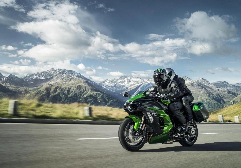 Kawasaki H2 SX - най-мощният спорт турър в света