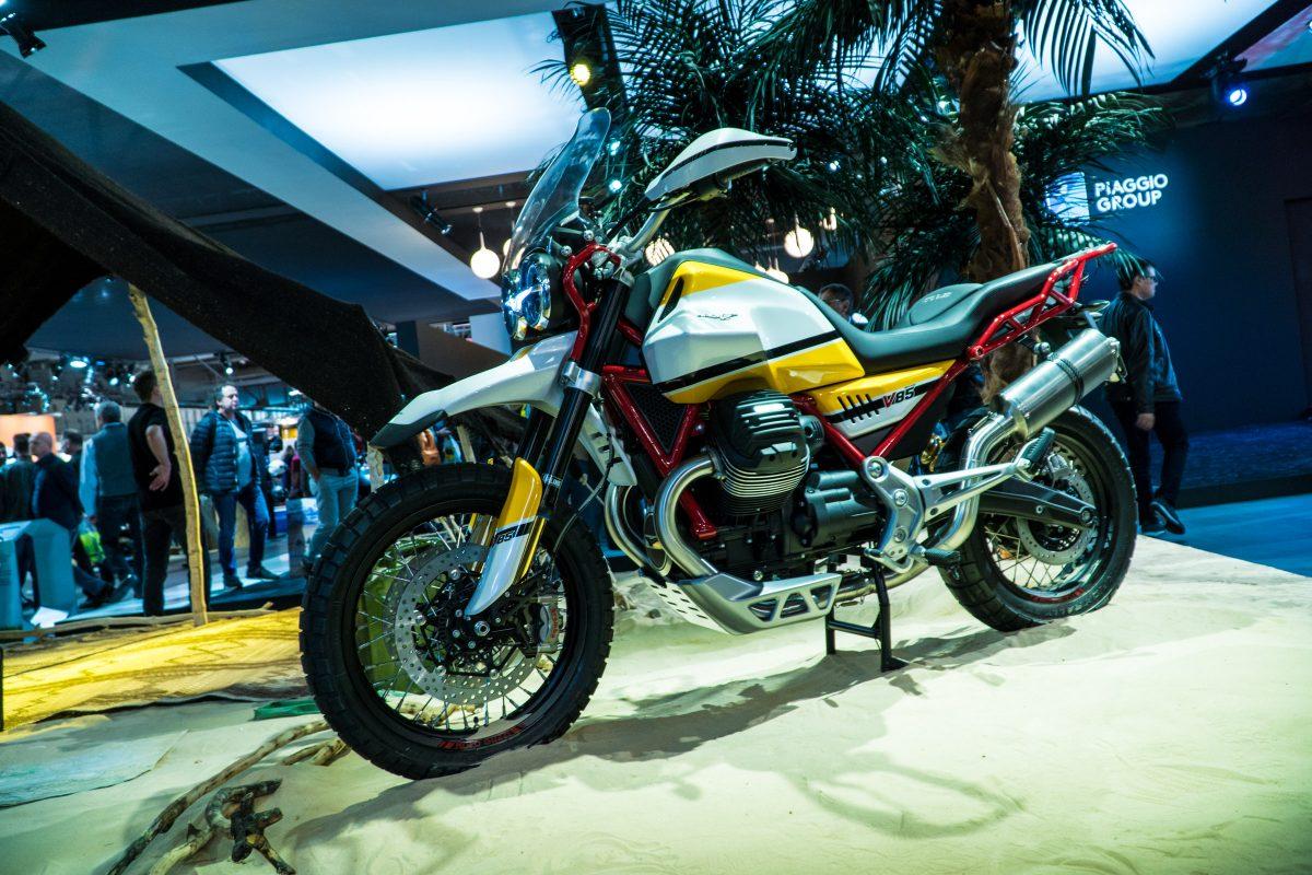 Moto Guzzi Concept V85 дебютира на EICMA - станете кръстник на модела за 100 годишнината на компанията