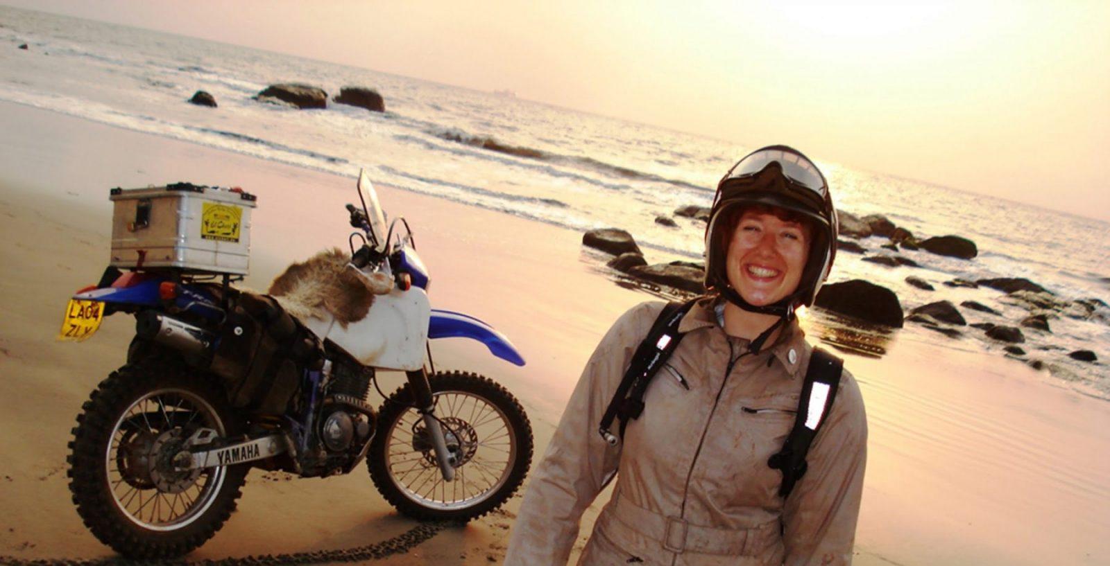 15 жени, които обикалят света с мотоциклет сами - 01: Лойс Прайс