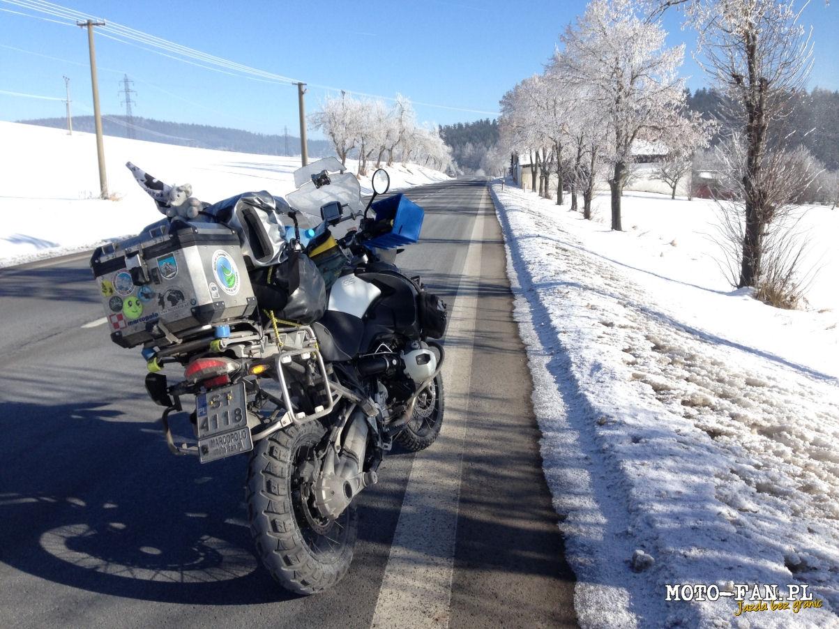 Мания: Поляк потегля към NORDKAPP посред зима