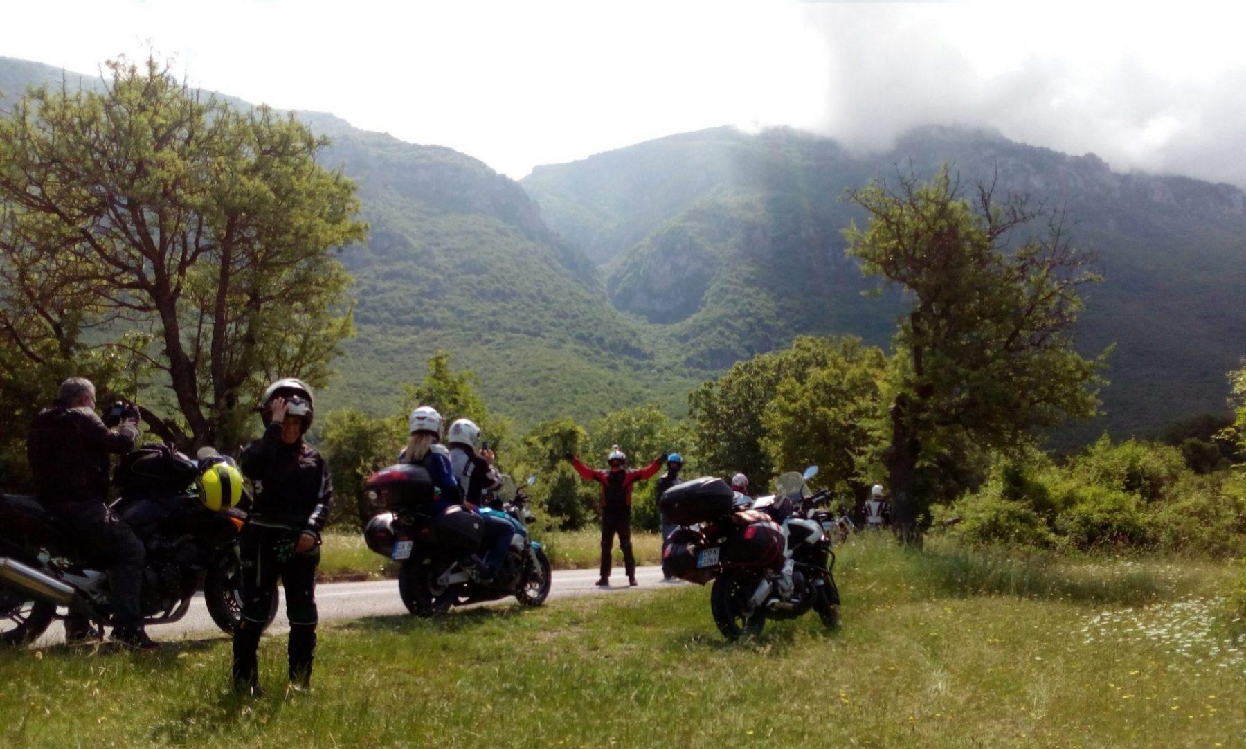 Проходът Галичица (Galicica Pass) Шосе P504