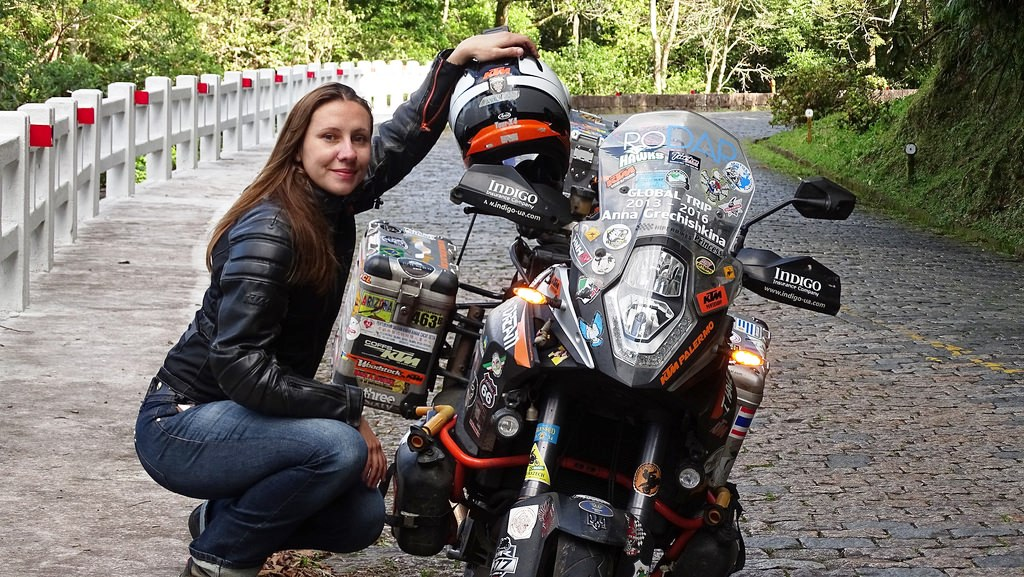 15 жени, които обикалят света с мотоциклет сами: 05 – Анна Гречишкина