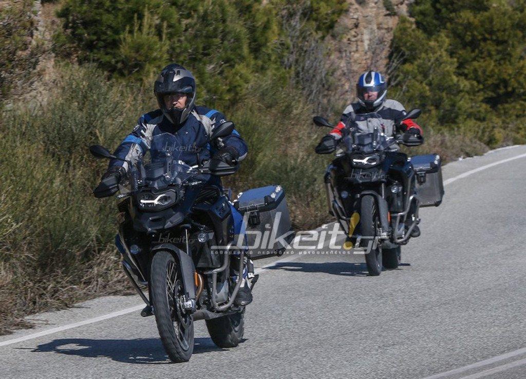 2019 BMW F850GS Adventure вече се разхожда сред нас - шпионски снимки от Гърция