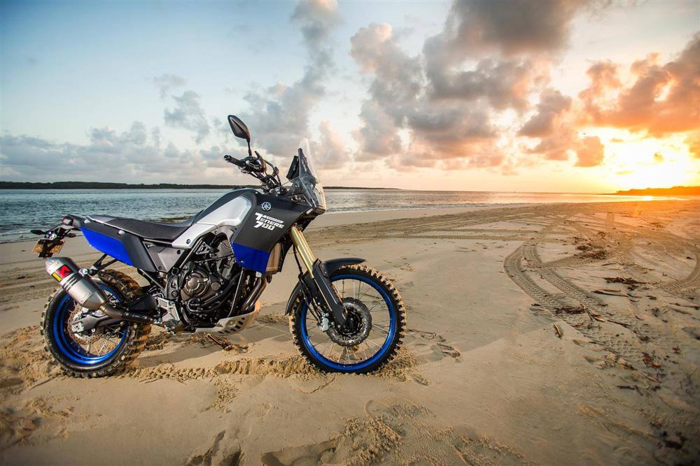 Yamaha Ténéré 700 - почти готов... или още прах в очите? Този път от брега на морето