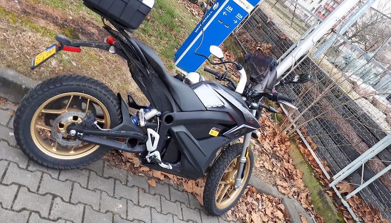 Германец постави рекорд за изминато разстояние с електрически мотоциклет