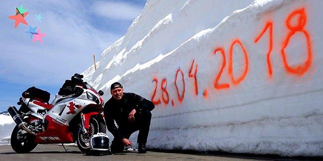 Австрийските алпийски проходи са почти готови мото пътешествениците