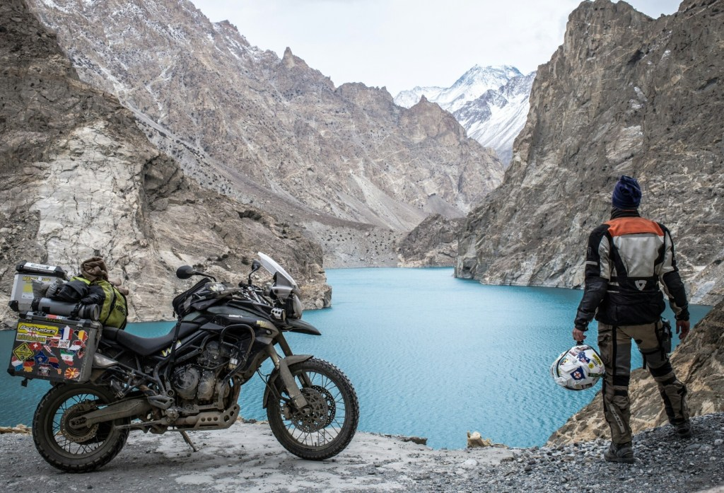 httpatthehandlebars.comAttabad lake, when the weather started getting real dicey on the karakoram highway