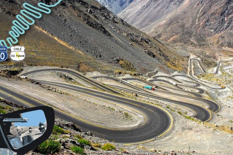 """Paso de los Caracoles: """"Пътят на охлювите"""" - Ruta CH-60"""