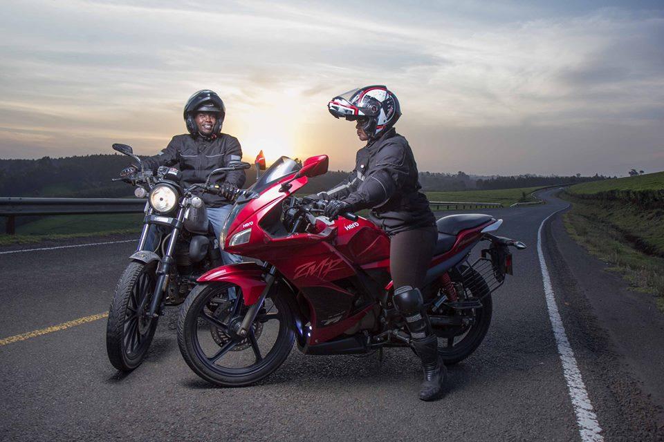 Кенийска двойка са първите чернокожи африканци, които тръгват на околосветско пътешествие с мотоциклети