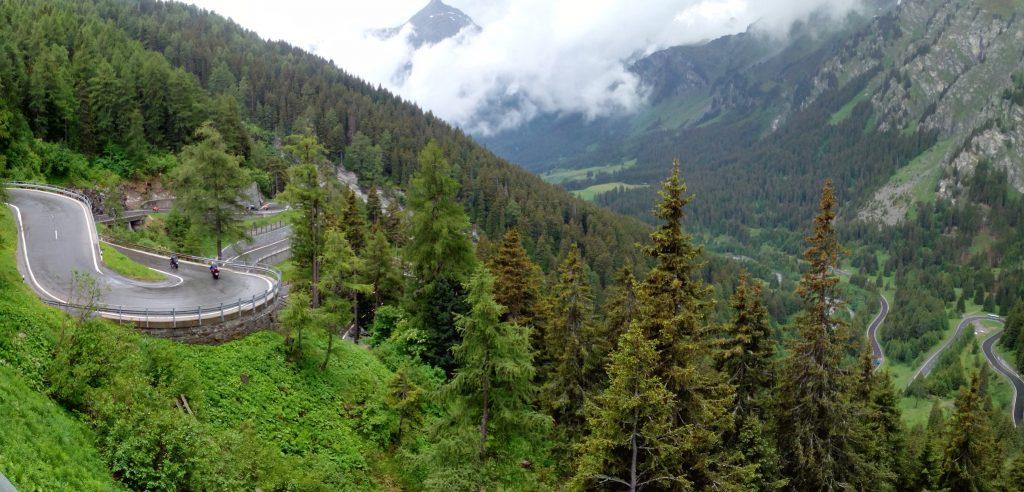 Проходът Малоя - Maloja Pass