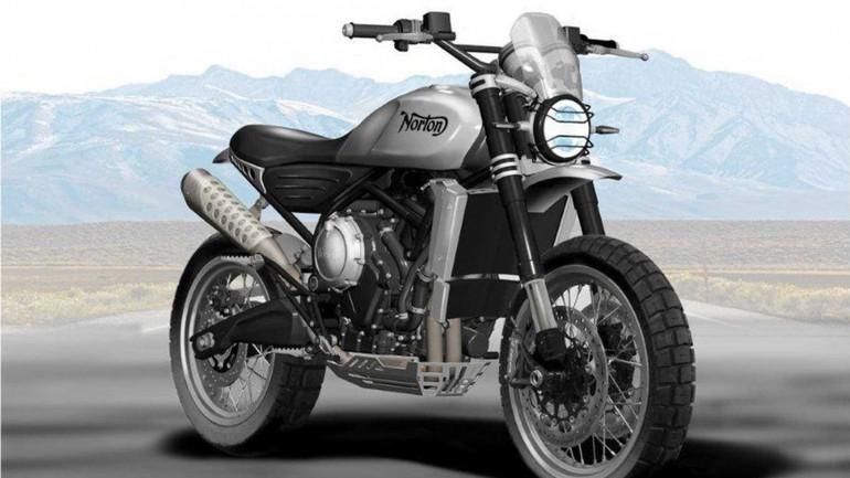 Norton възраждат модела Атлас от 60-те
