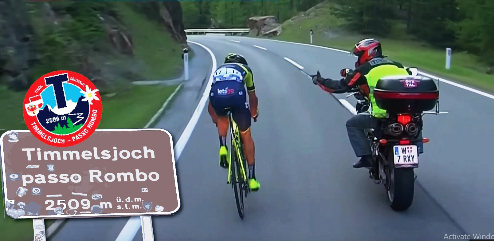 Затварят Passo Rombo, Jaufenpass и Brener Pass в началото на септември заради колоездачния маратон Ötztaler