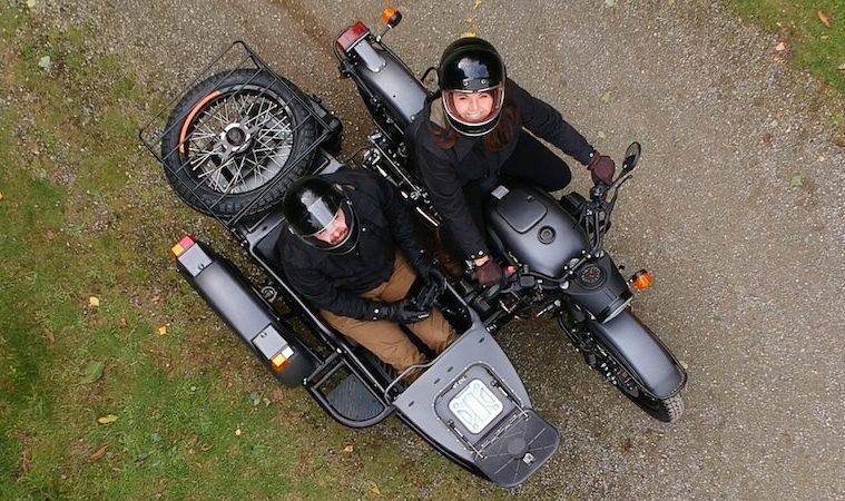 Урал пуска първия мотоциклет оборудван с... дрон