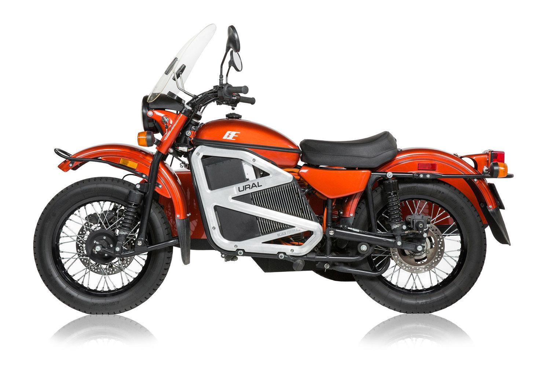 Урал представи прототип на електромотоциклет