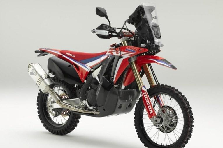 Honda CRF450L Rally Concept - Истинският убиец на титани: Дакар мотоциклет в серийно производство?