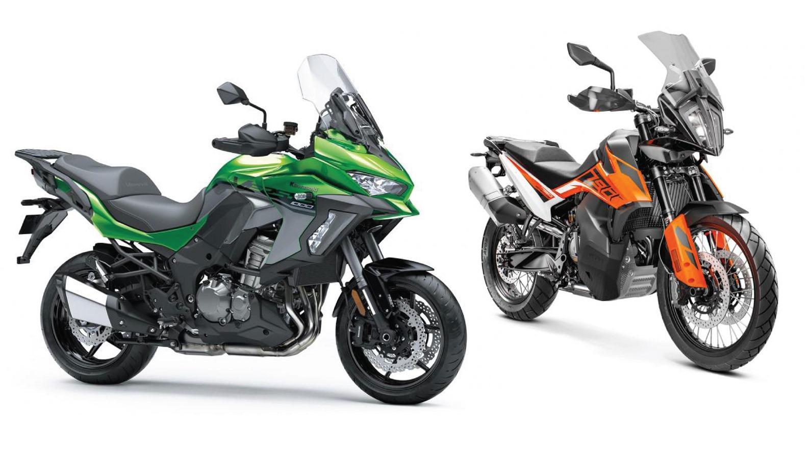 Новите KTM 790 Adventure и Kawasaki Versys 1000 вече с цени за България
