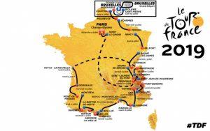 Tour de France 2019 - Колоездачната обиколка на Франция @ Франция