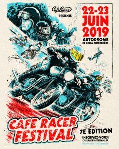 """""""Кафе Ресър фестивал"""" - Франция Cafe Racer Custom Club @ Париж"""