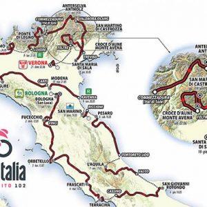 Giro d'Italia 2019 - Колоездачната обиколка на Италия @ Италия