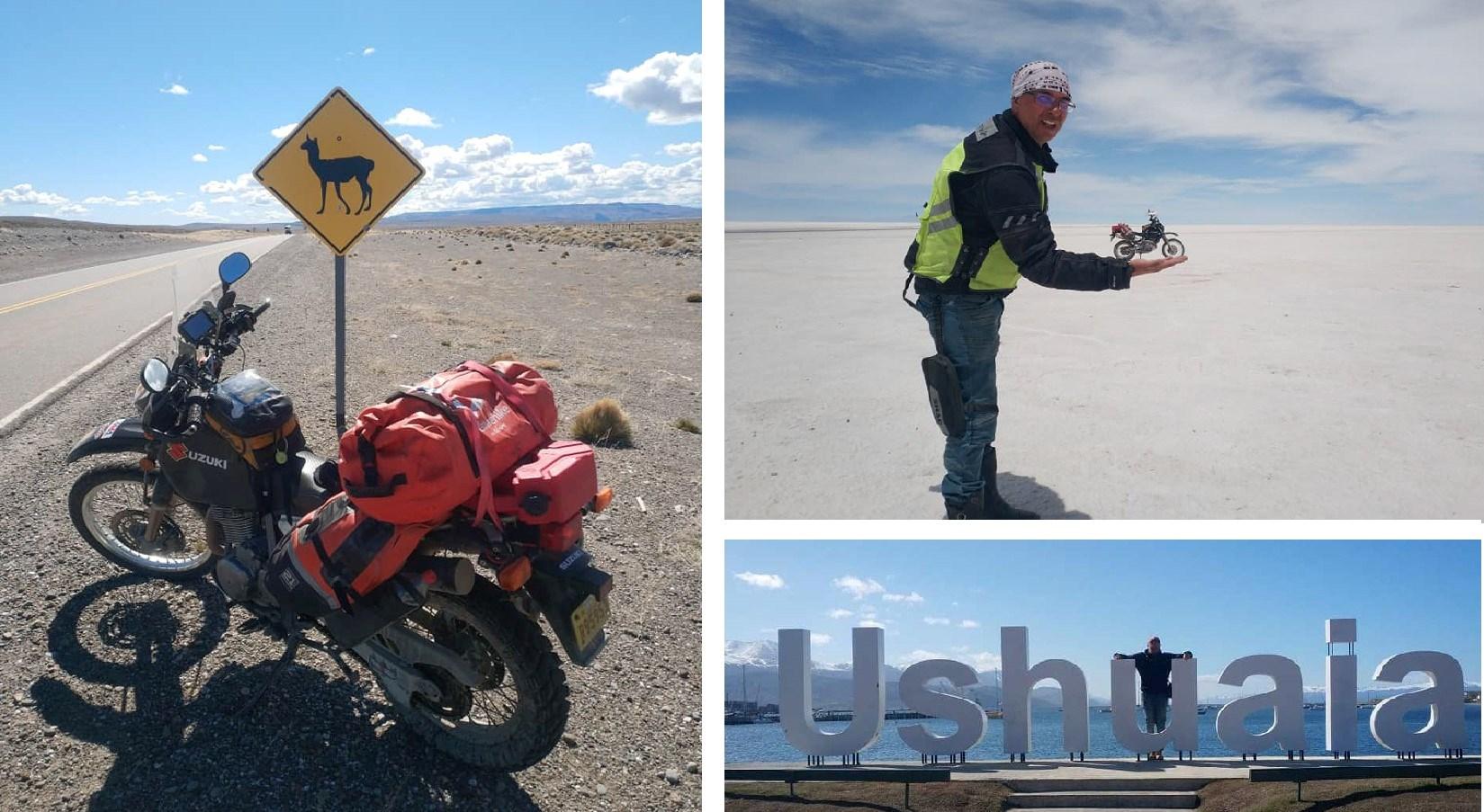 Южна Америка на мотоциклет или