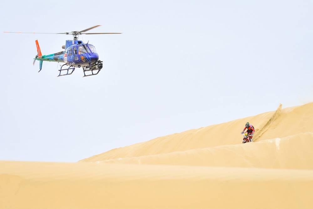 Дакар'19 - E2: Шампионът Валкнер връща KTM в играта