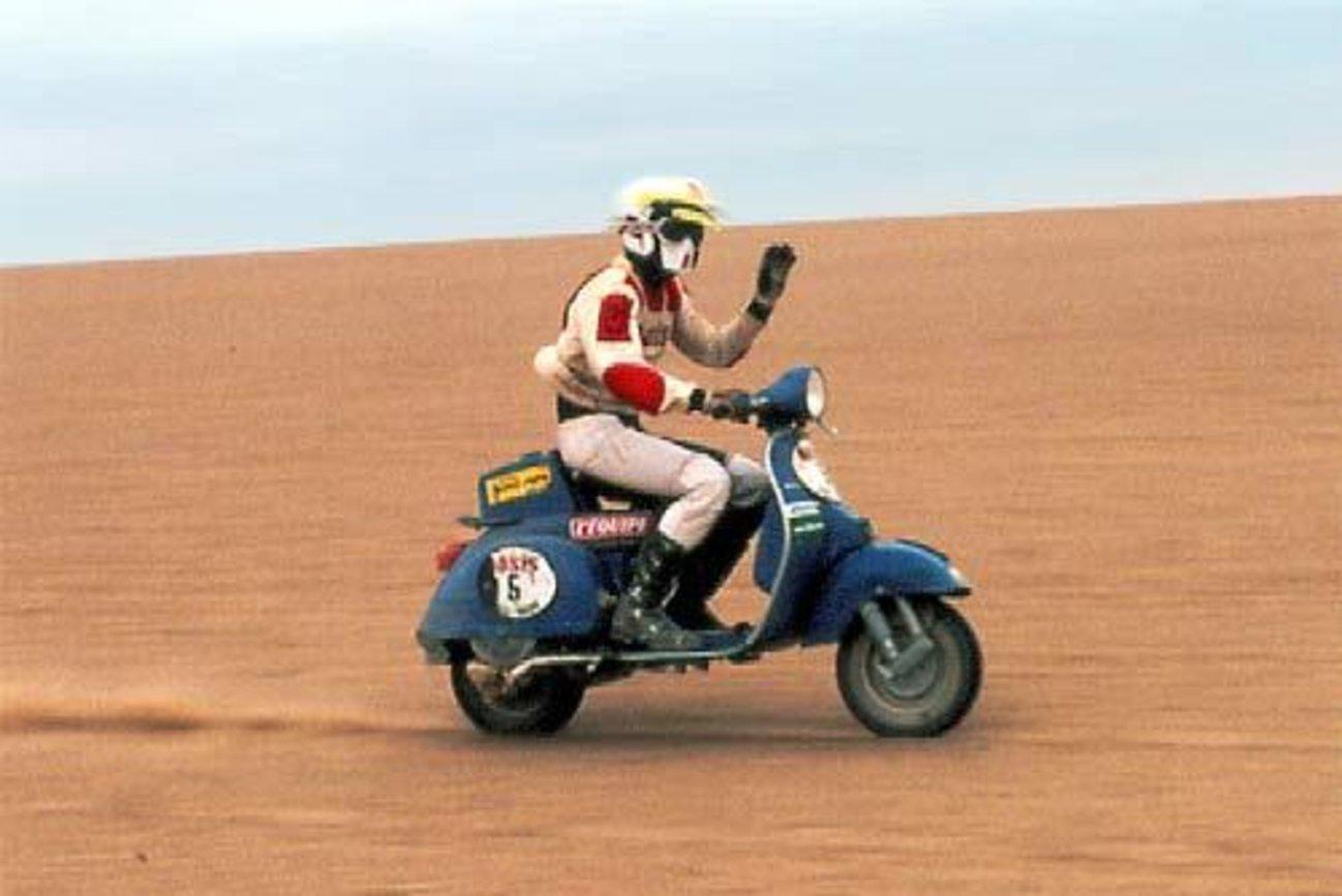 Дакар 1980: Повече ентусиасти и експериментът Vespa