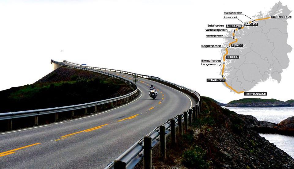 Норвегия изгражда 1100 км крайбрежно шосе по фиордите