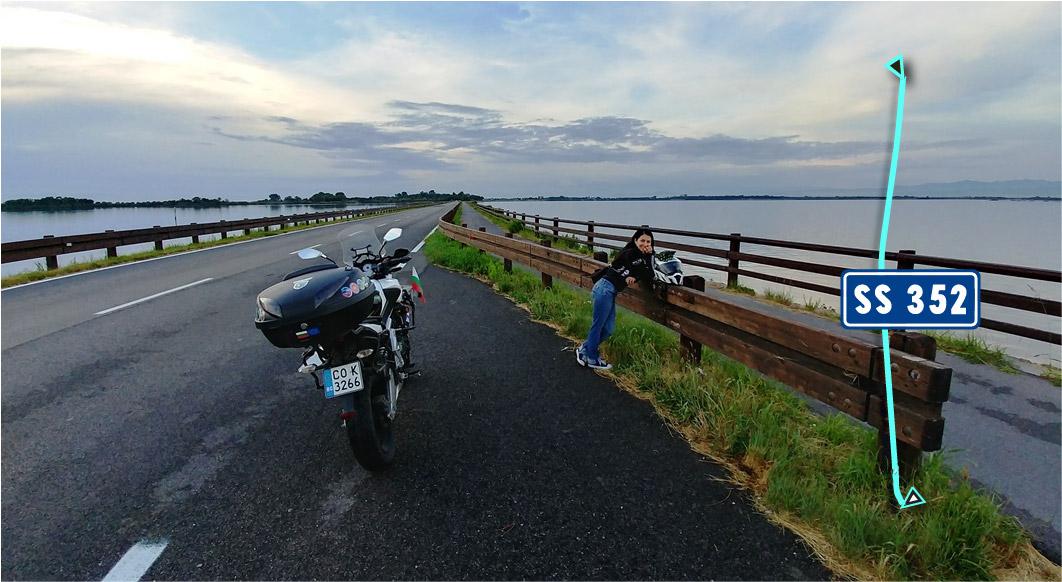 Пътят до Гра̀до - Шосе SR352