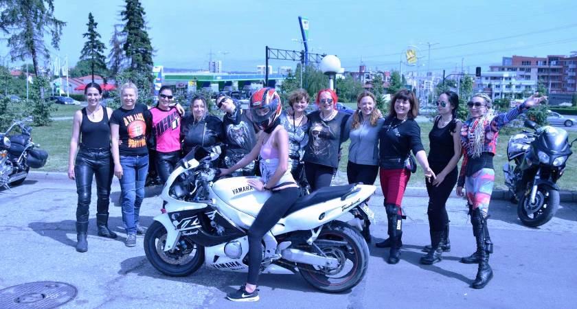 Българските мотористки отбелязват 04.05 - Международния ден на жените мотористи