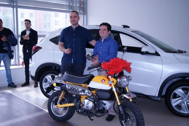 Отзвук от Moto Expo'19 - Honda връчи Monkey-то