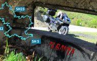 Шосета SH22 и SH23 – обиколката на езерото Фиерза