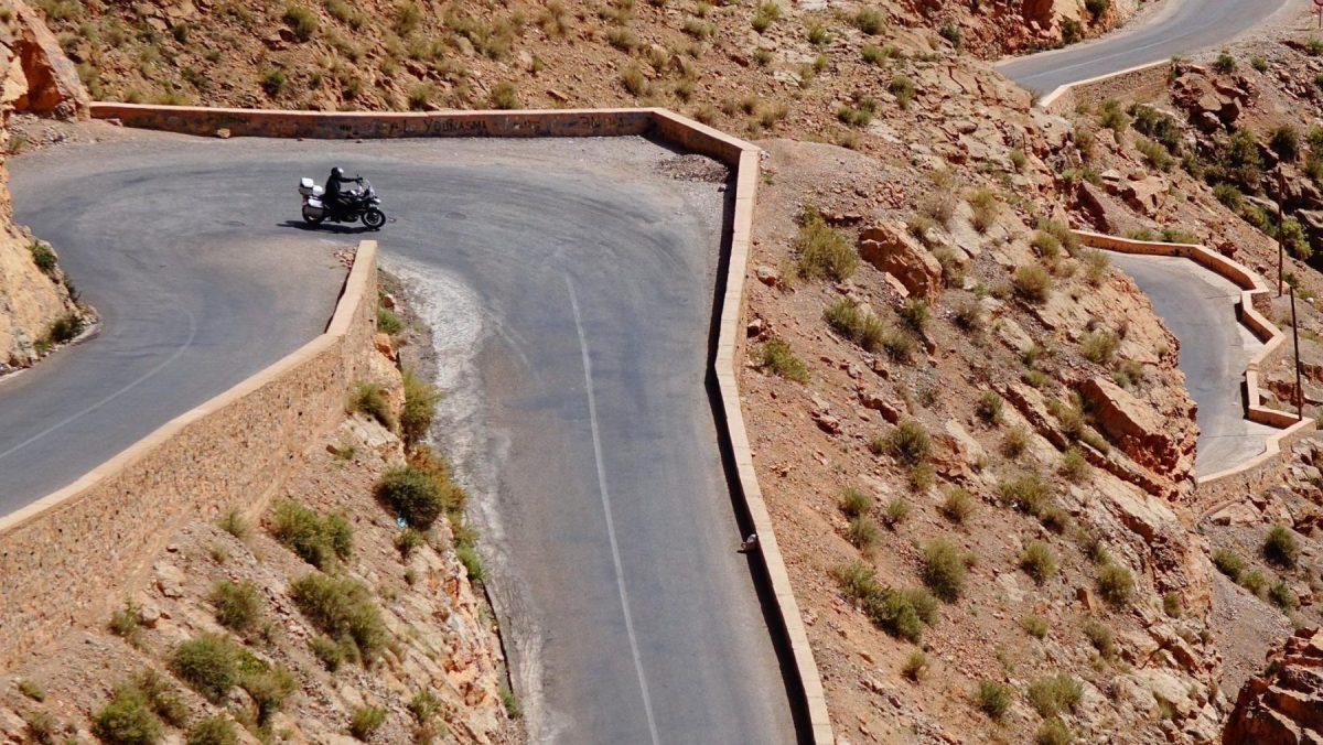 Пътят през ждрелото Дадес - Dadès Gorges: Емблемата на Мароко