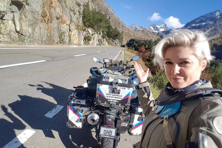 Соло от Австралия до навсякъде с мотоциклет – интервю с Кинга Танайевска - I част