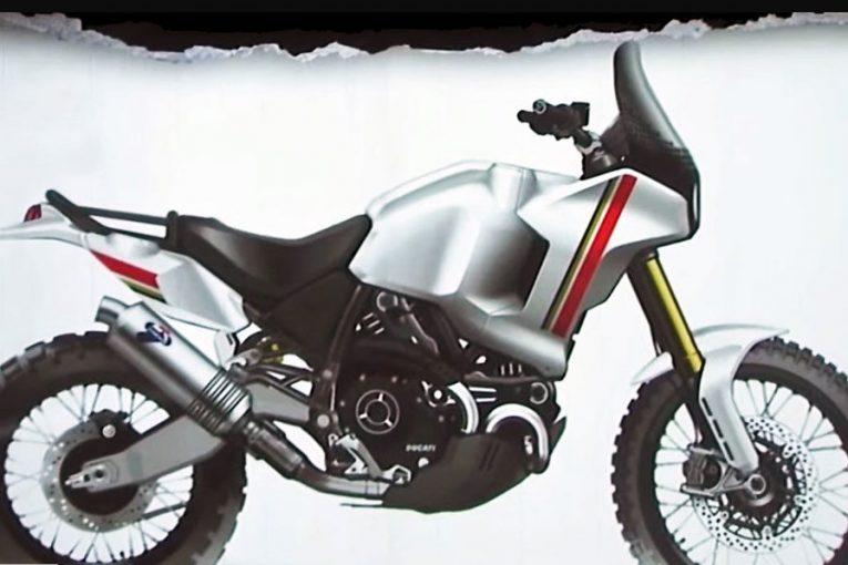 Ducati възкресява легендата Cagiva Elefant от 1990 преобразена в Ducati Desert X