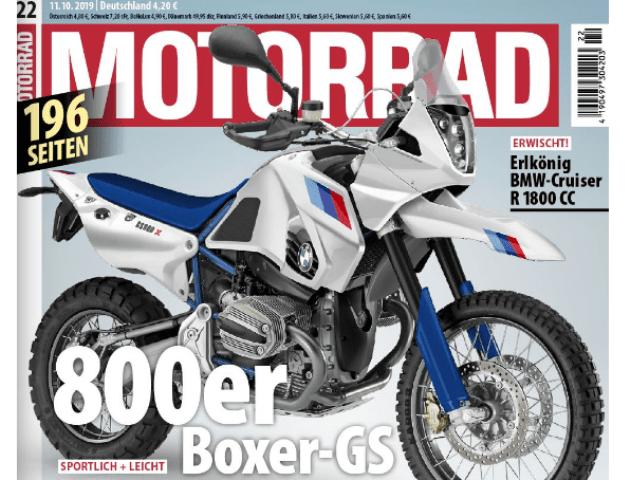 Графика на бъдещ BMW 800er Boxer-GS или поредни маневри във войната с регулациите