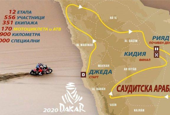 Маршрутът на рали Дакар 2020 или началото на Глава III - (Видео)