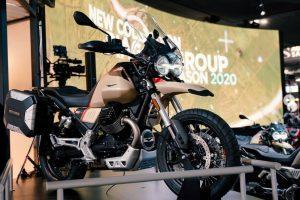 Piaggio Group завзема нов пазарен дял благодарение на MOTO GUZZI V85TT