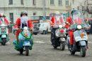 Коледната обиколка на Vespa клуб България (снимки)