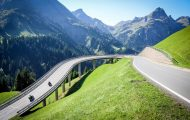 Проходът Хохтанберг – Hochtannbergpass: Зелен и скоростен