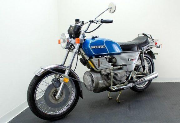 Първият мотоциклет с роторен двигател - Историята на DKW Hercules W2000