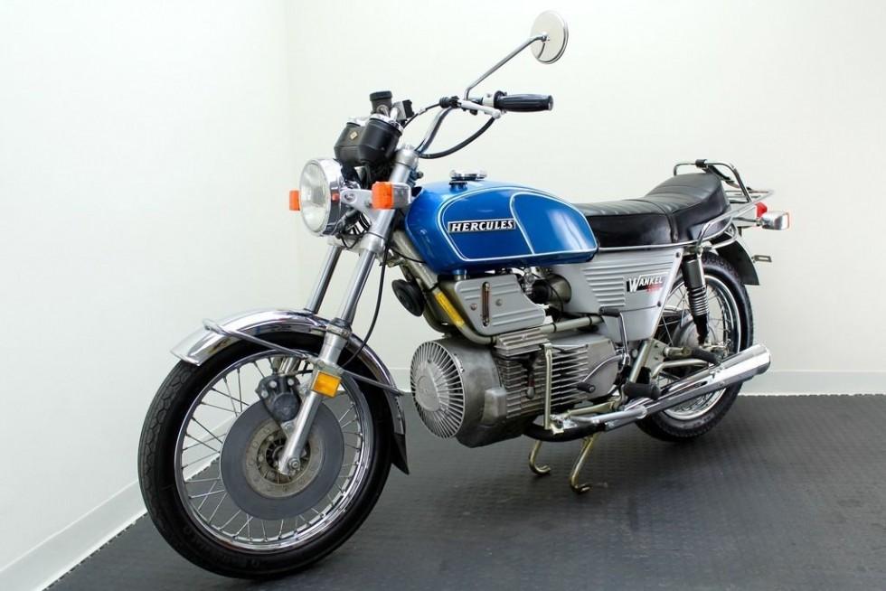 Photo of Първият мотоциклет с роторен двигател – Историята на DKW Hercules W2000
